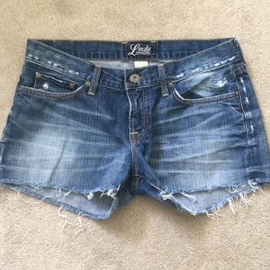 Lucky Brand Jean Shorts Size 6/28